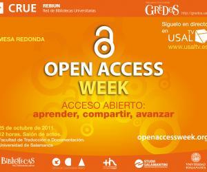 Mesa redonda - Semana internacional del acceso abierto