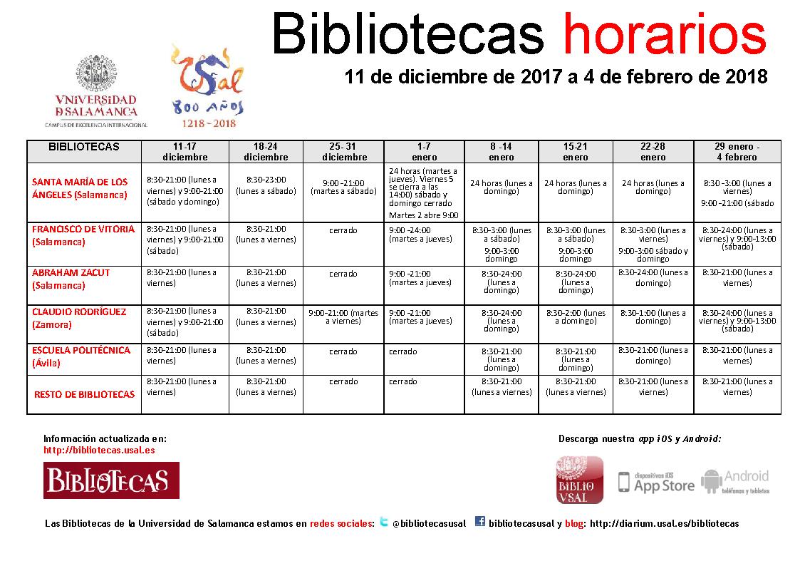 Horarios Imagen