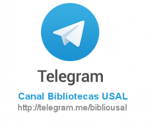 Canal Telegram Bibliotecas USAL