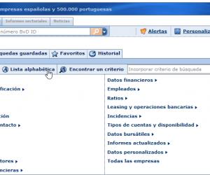 SABI - Base de datos de empresas españolas y portuguesas